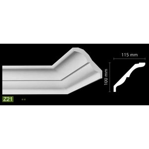NMC Arstyl Z21 (100 x 115 mm), lengte 2 m