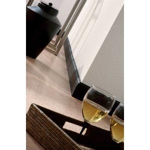 NMC Wallstyl / Floorstyl FL1 (80 x 12 mm), lengte 2 m (NMC Plint Orso)