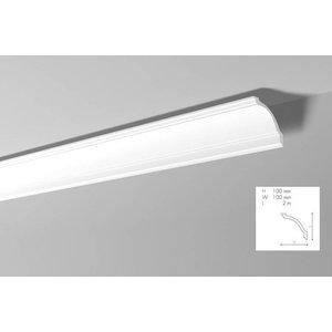 NMC Kroonlijst Nomastyl GP+ (100 x 100 mm), lengte 2 m