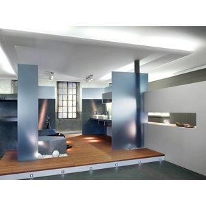 NMC Wallstyl / Floorstyl FD1 (100 x 15 mm), lengte 2 m (NMC Plint Enzo)