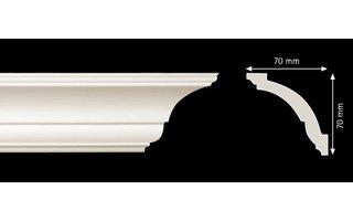 Homestar Sierlijsten plafond AS (70 x 70 mm), lengte 2 m