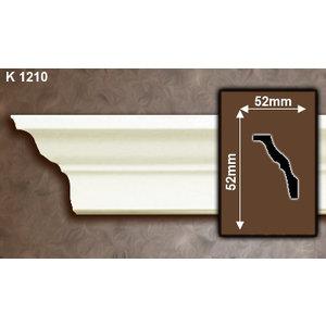 Grand Decor Kroonlijst K1210 (52 x 52 mm), polyurethaan, lengte 2 m