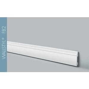 NMC Wallstyl FB2 (100 x 13 mm), lengte 2 m