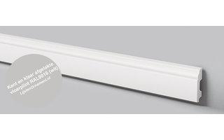 NMC Wallstyl FB1F (60 x 13 mm), lengte 2 m, afgelakt met RAL9016 (wit)