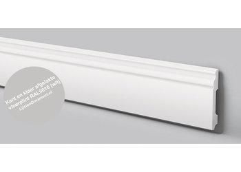 NMC Wallstyl FB2F (100 x 13 mm), lengte 2 m, afgelakt met RAL9016 (wit)