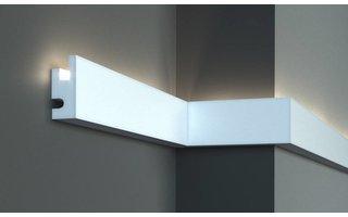 Tesori KD301 (90x40 mm), lengte 1,15 m, LED sierlijst voor indirecte verlichting XPS