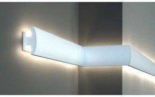 Tesori KD305 (90 x50 mm), lengte 1,15 m, LED sierlijst voor indirecte verlichting XPS