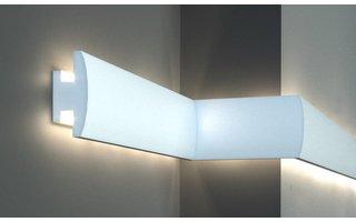 Tesori KD306 (120 x55 mm), lengte 1,15 m, LED sierlijst voor indirecte verlichting XPS