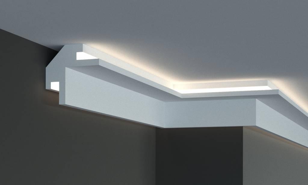 Tesori Led Sierlijst Voor Indirecte Verlichting Xps Kd203 95 X 95 Mm Lengte 1 15 M Sierlijsten En Ornamenten Webshop Luteijn