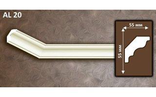 NMC Allegro AL20 (55 x 55 mm), sierlijst polyurethaan, lengte 2 m OP = OP