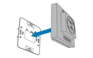 Klikcaps Voor afdekken stopcontact, enkel model per stuk