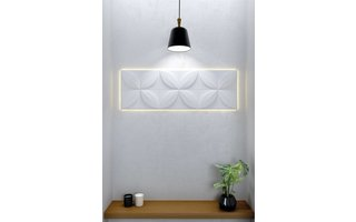 NMC 3D Wallpanel Frame met LED-systeem