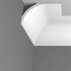 NMC Arstyl AD23, profiel voor indirecte verlichting - plafondlijst (115 x 185 mm), lengte 2 m