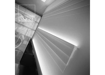 NMC Arstyl AD21, profiel voor indirecte verlichting - plafondlijst  (255 x 60 mm), lengte 2 m