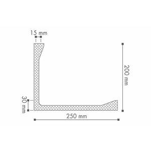 NMC Arstyl L2 (200 x 250 mm), lengte 2 m