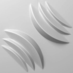 Vidella 3D Wandpanelen Bamboe Midnight Flow (prijs per pak à 2 m2)