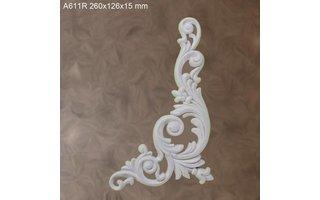 Grand Decor Ornament A611 R (260 × 126 × 15 mm)