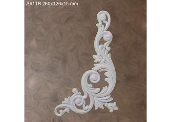 Grand Decor Ornament A611 R (260 × 126 × 15 mm)m