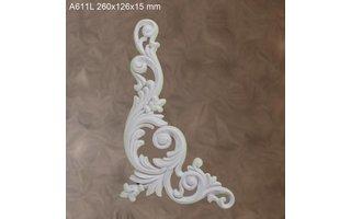 Grand Decor Ornament A611 L (260 × 126 × 15 mm)