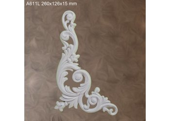 Grand Decor Ornament A611 L (260 × 126 × 15 mm)