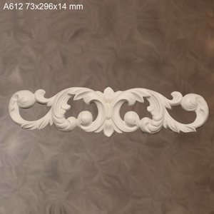 Grand Decor Ornament A612 (296 × 73 × 14 mm)