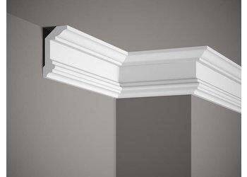 Grand Decor Kroonlijst P923 / K232 (100 x 55 mm), polyurethaan, lengte 2 m