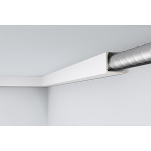 NMC Arstyl L1, profiel voor directe verlichting (150 x 150 mm), lengte 2 m