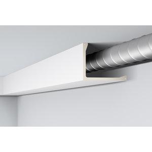 NMC Arstyl L2, profiel voor directe verlichting  (200 x 250 mm), lengte 2 m