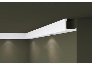 NMC Arstyl L4, profiel voor directe verlichting (100 x 100 mm), lengte 2 m