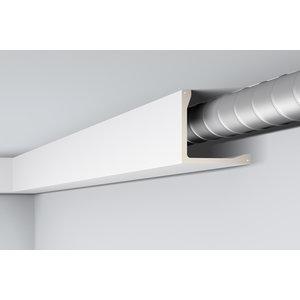 NMC Arstyl L5, profiel voor directe verlichting (200 x 200 mm), lengte 2 m