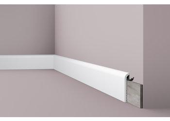 NMC Wallstyl CF1 Overzetplint (110 x 22 mm), lengte 2 m (NMC Overzetplint Paolo)