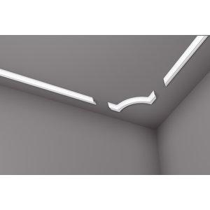 NMC Nomastyl Kaderlijst O (40 x 20 mm), lengte 2 m