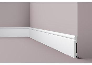NMC Wallstyl / Floorstyl FL4 (150 x 20 mm), lengte 2 m (NMC Plint Drago)