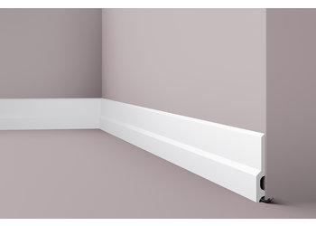 NMC Wallstyl / Floorstyl FD22 (130 x 18 mm), lengte 2 m (NMC Plint Lucio)