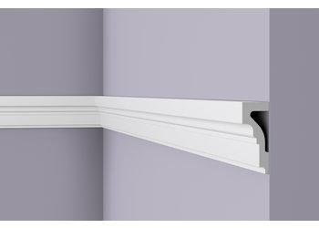 NMC Wallstyl WL4 (100 x 40 mm), lengte 2 m (NMC Sierlijst Arrigo)