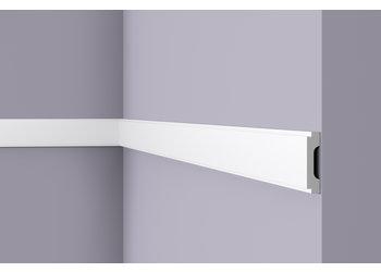 NMC Wallstyl WD1 (65 x 15 mm), lengte 2 m (NMC Deurlijst Rico)