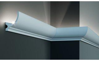 Grand Decor KF715 (84 x 67 mm), lengte 2 m, PU - LED sierlijst voor indirecte verlichting