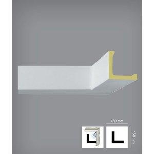 Bovelacci Classicstyl C3226 (15 x 15 cm) Kroonlijst Indirecte Verlichting, alternatief Arstyl L1 (15 x 15 cm)