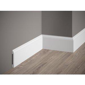 Lijst & Ornament Deurlijst / Plint MD258 (81 x 10 mm), lengte 2 m