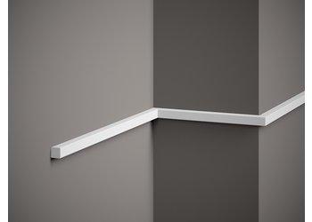 Lijst & Ornament Plint MD010 (15 x 15 mm), lengte 2 m