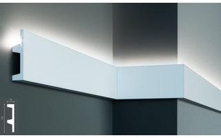 Grand Decor KF504 (102 x 25 mm), lengte 2 m, PU - LED sierlijst voor indirecte verlichting