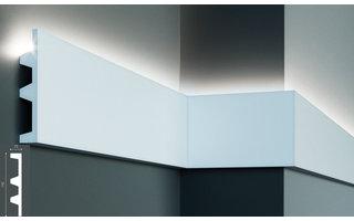 Grand Decor KF505 (142 x 25 mm), lengte 2 m, PU - LED sierlijst voor indirecte verlichting