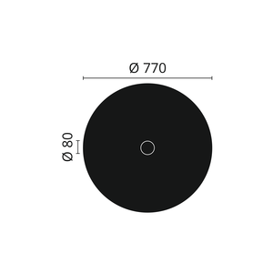 NMC Arstyl R24 Rozet diameter 77 cm