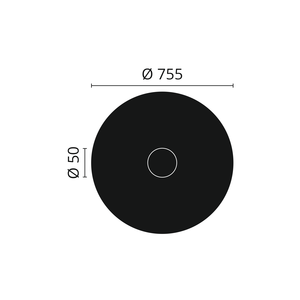 NMC Arstyl R20 Rozet diameter 75,5 cm