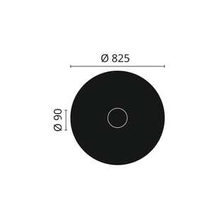 NMC Arstyl R12 Rozet diameter 82,5 cm