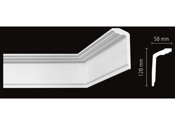 NMC Kroonlijst Nomastyl GT+ (120 x 50 mm), lengte 2 m