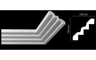 NMC Arstyl Z51 (150 x 150 mm), lengte 2 m