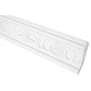 Grand Decor Kroonlijst C748 (75 x 35 mm), polyurethaan, lengte 2 m (Z9)