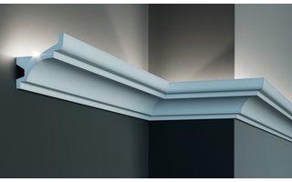 Grand Decor KF716 (79 x 80 mm), lengte 2 m, PU - LED sierlijst voor indirecte verlichting
