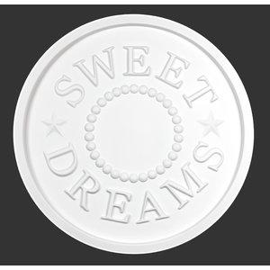 Grand Decor Rozet SWEET DREAMS diameter 56,0 cm babykamer / kinderkamer